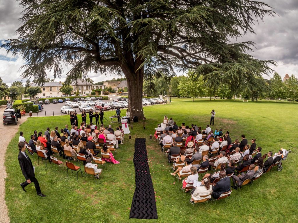 Décoration de mariage Nouvelle Aquitaine Vendée Centre Dordogne