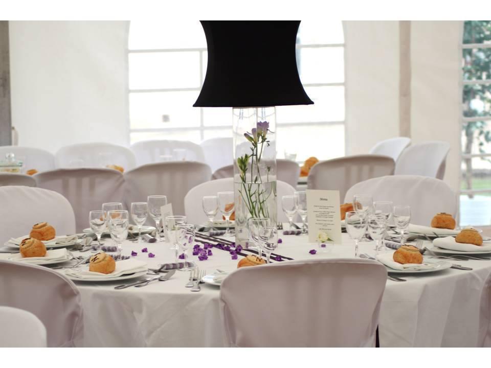 Thème mariage violet et noir
