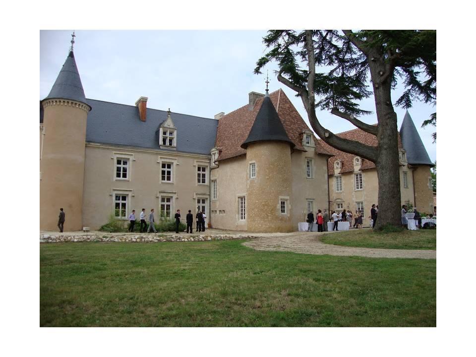Vin d'honneur au château de Vernon