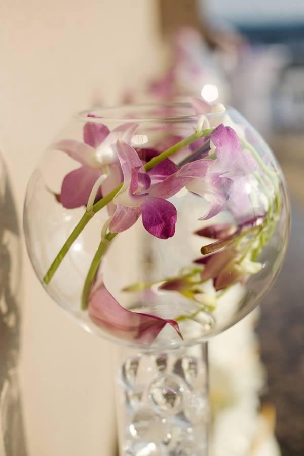 Vase rond original décoration