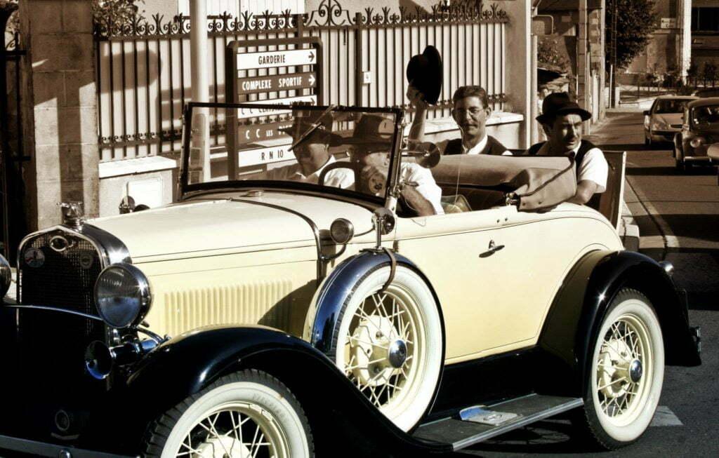 Rallye voiture années folles