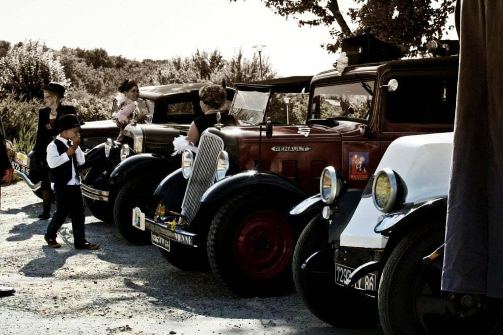 Organisation rallye vieilles voitures