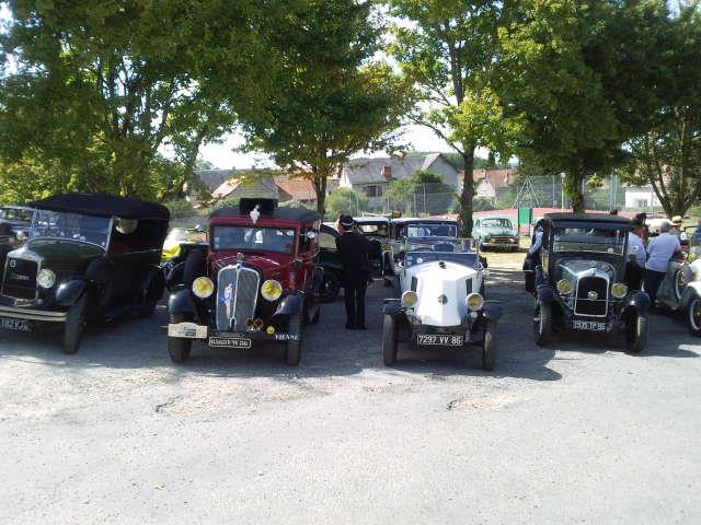 Rallye de voitures anciennes