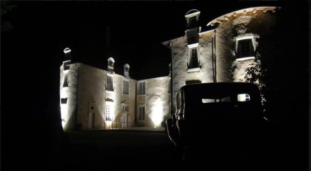 Château de Vernon éclairé