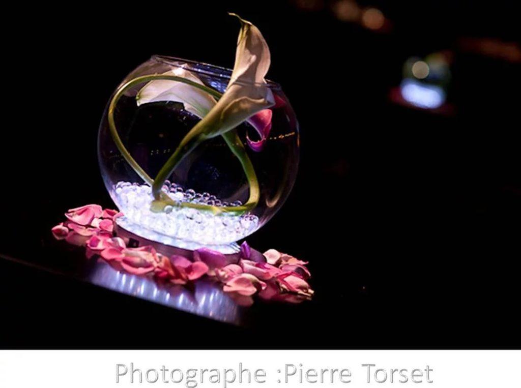 Vase rond décoration