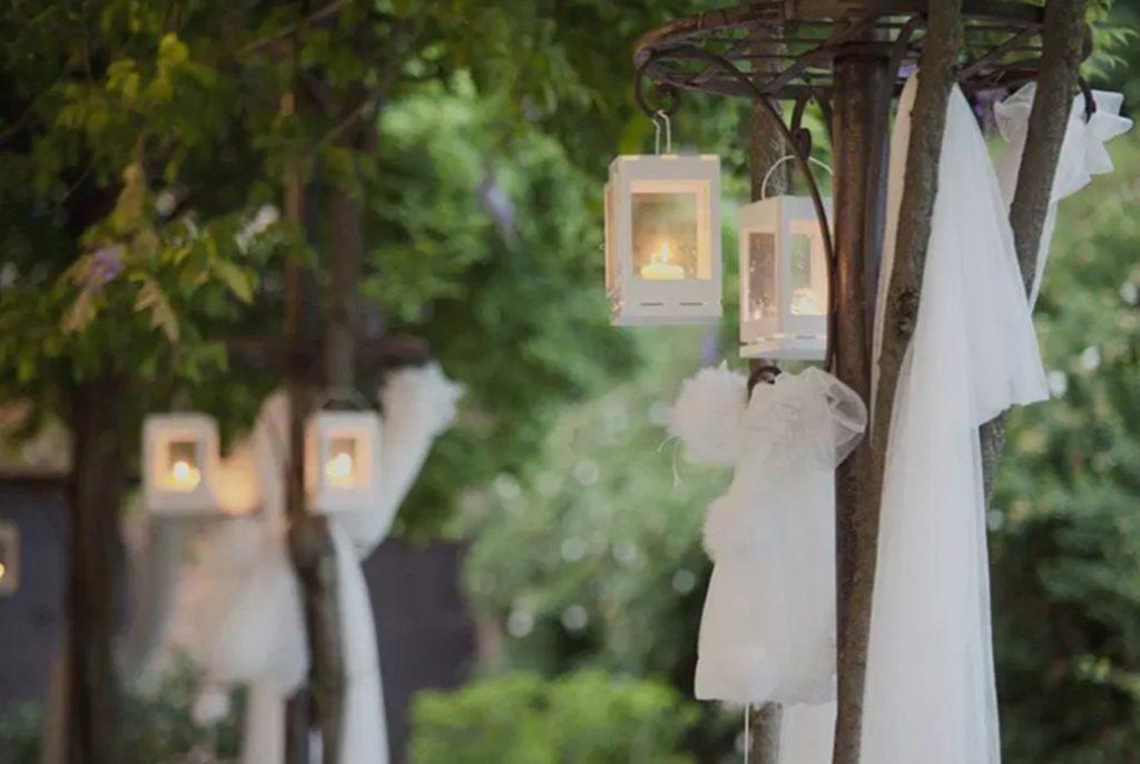 Lanternes décoration mariage