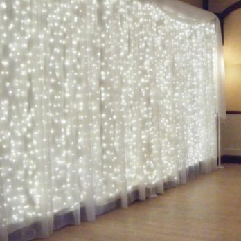 rideaux lumineux mariage