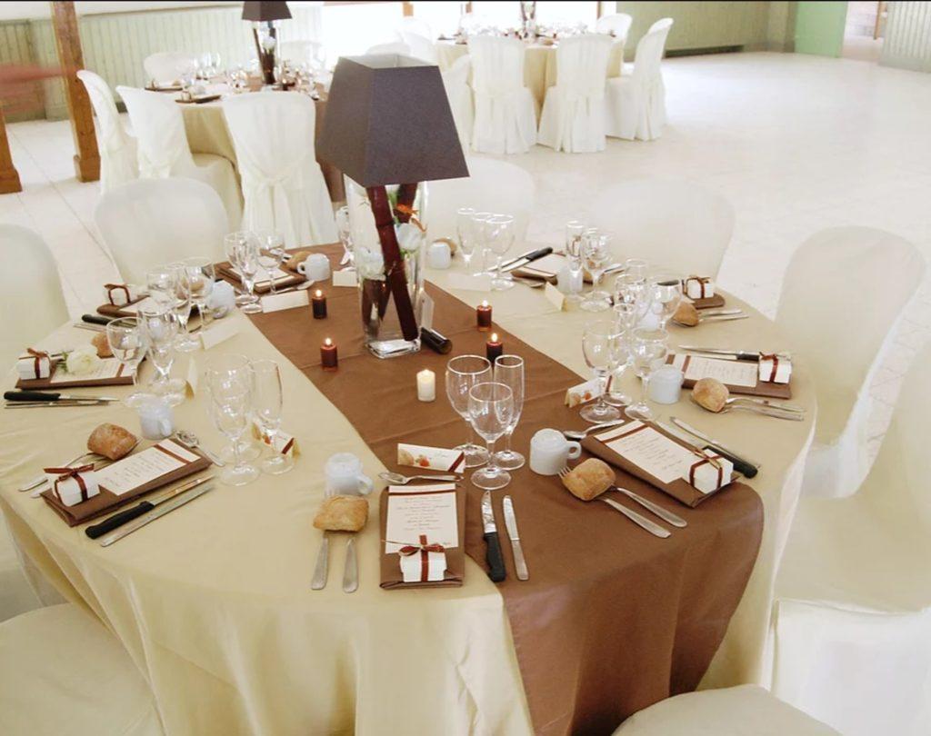 Table de mariage au domaine de Givray