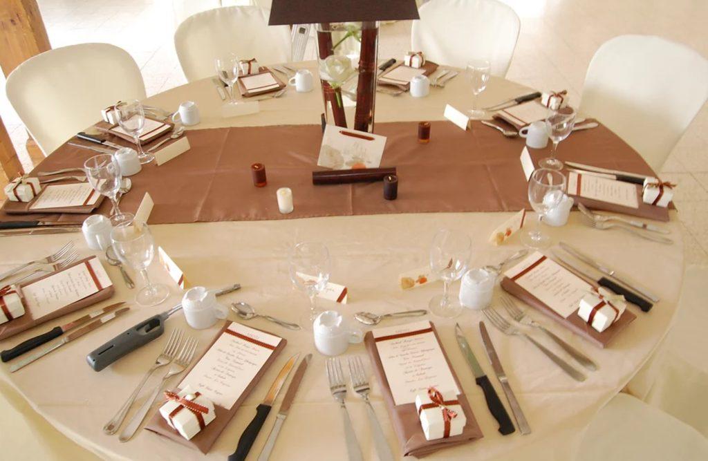Décor table de mariage