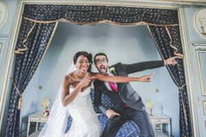 Mariage chic et décalé
