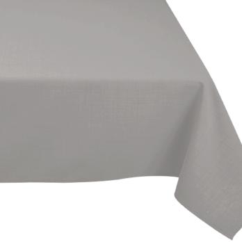 location de nappes rectangulaires grises