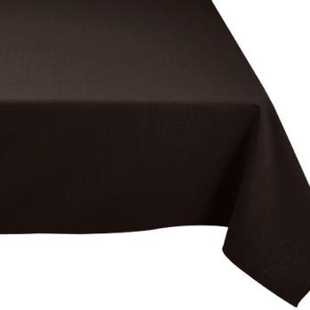 nappe rectangulaire noire mariage