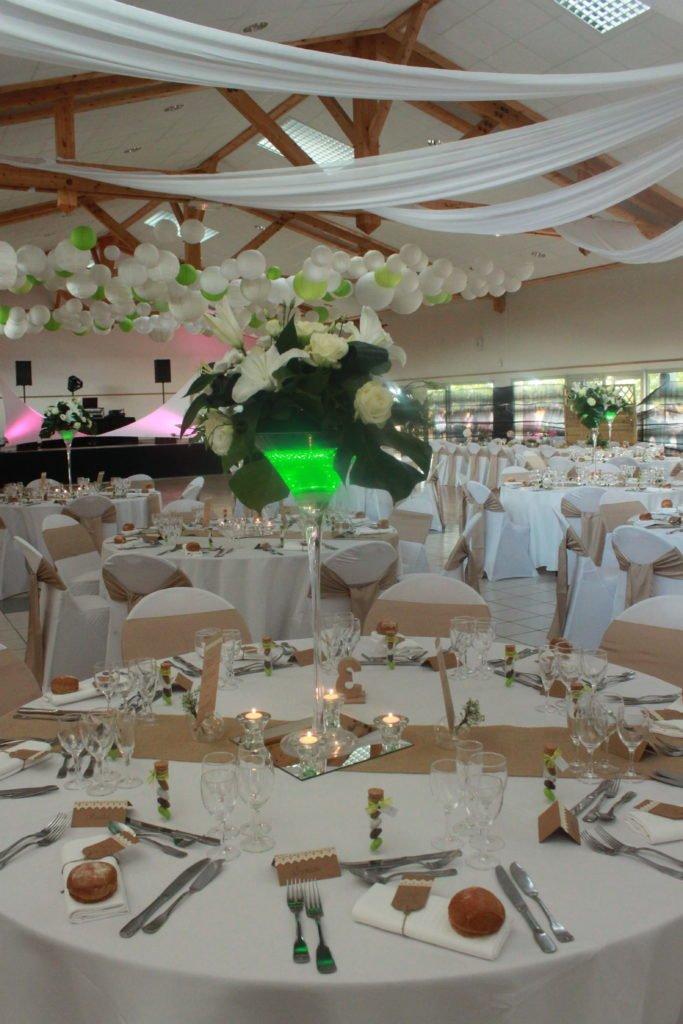 table mariage toile de jue