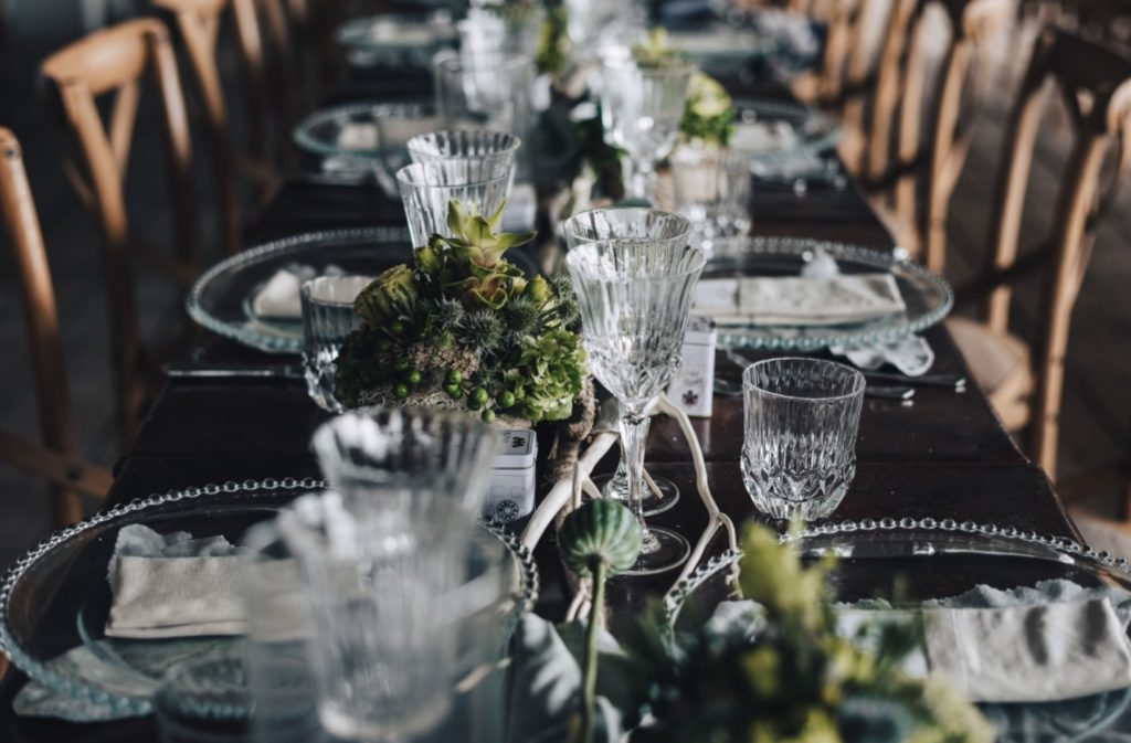 table rectangle mariage