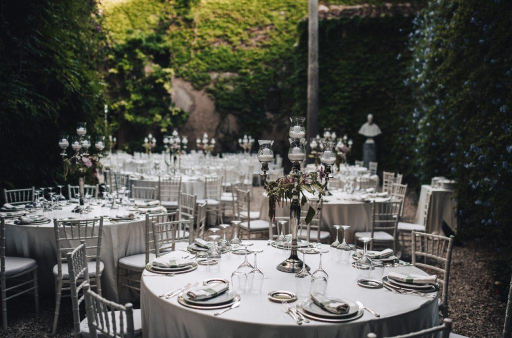 chandeliers verres mariage