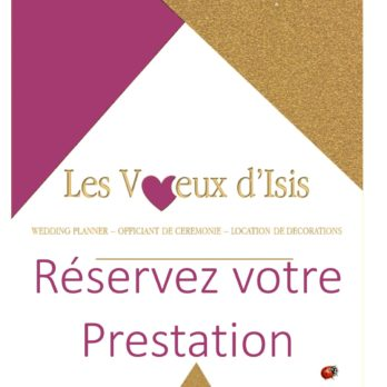 PRESTATIONS MARIAGES